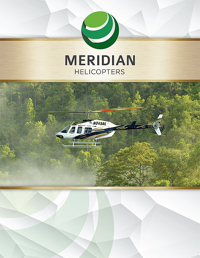 Meridian Helicopters Corporate Brochure