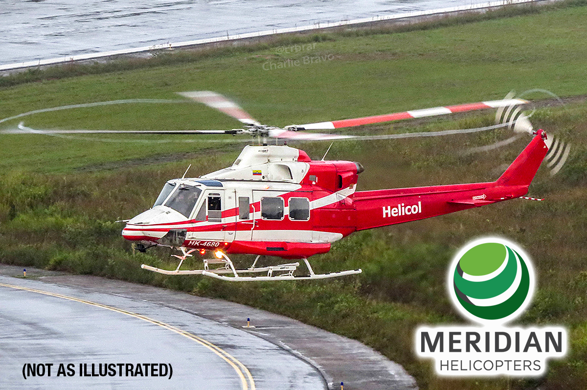 FOR SALE Bell 412 - HK4767 - In flight