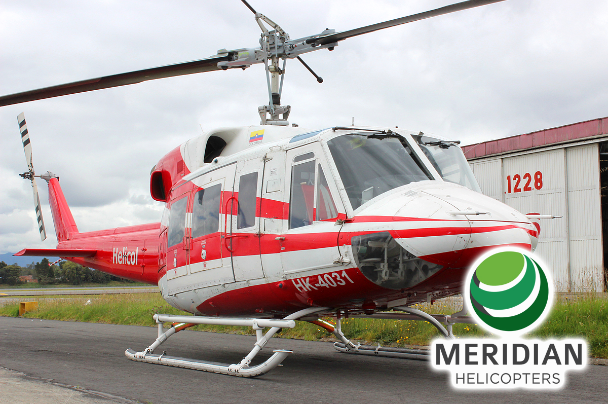 FOR SALE Bell Helicopter 212 - HK4031 - Exterior