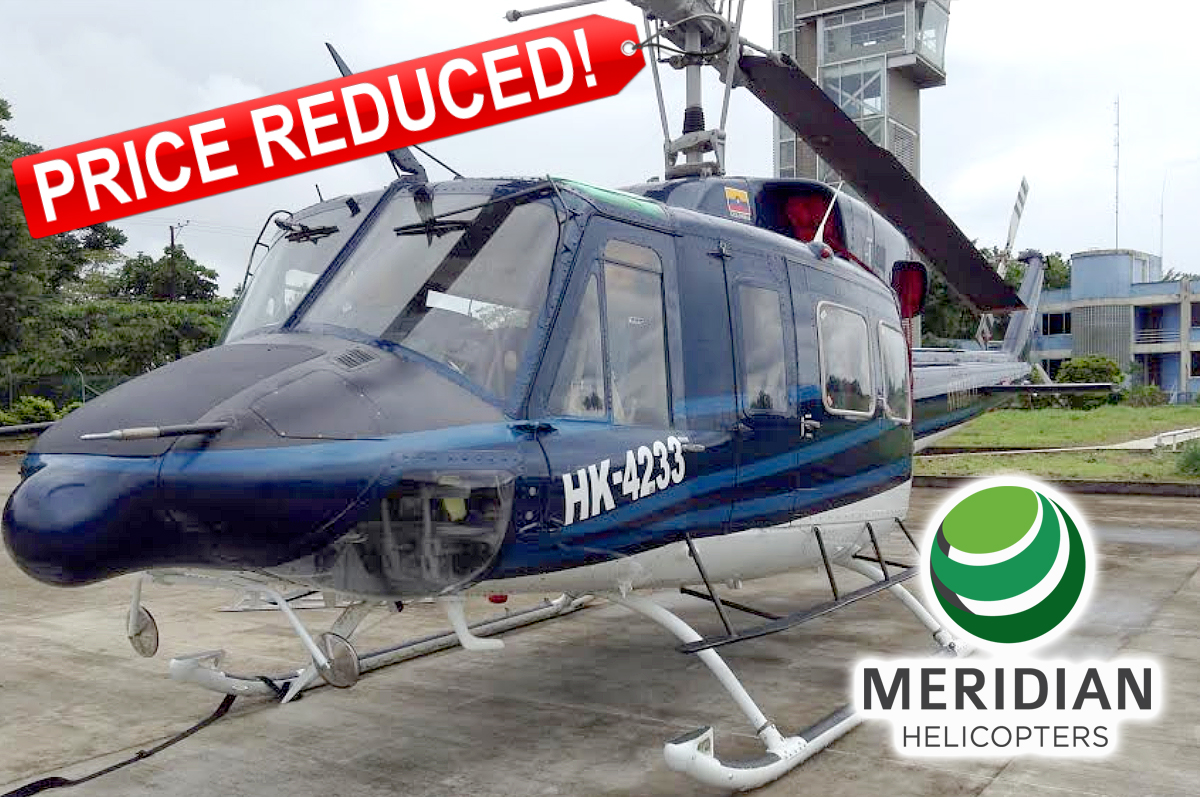FOR SALE Bell Helicopter 212 - HK4233 PR B