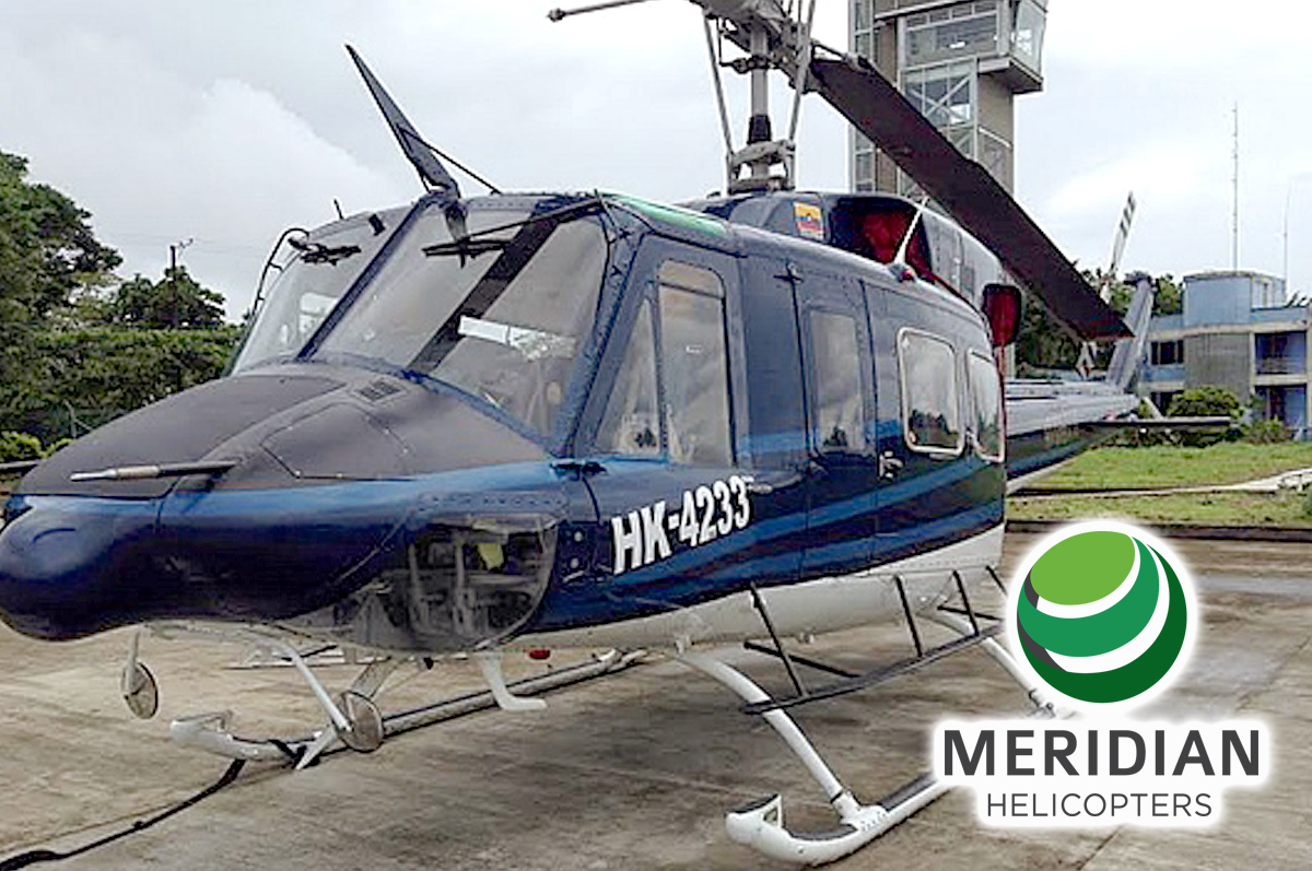 FOR SALE Bell Helicopter 212 - HK4233