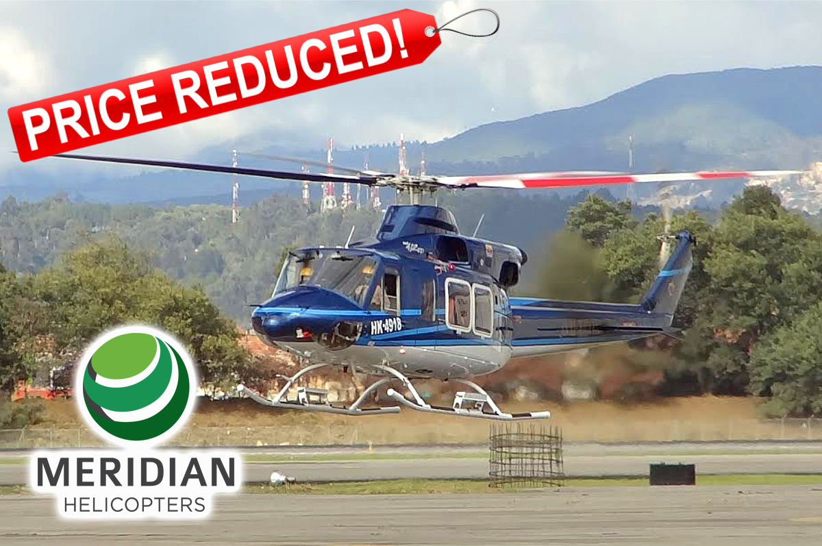 FOR SALE Bell Helicopter 412EP - HK4918 B - reduced