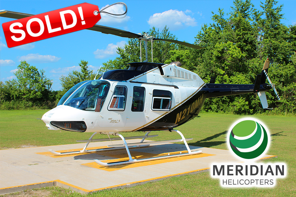 FOR SALE or LEASE Bell Helicopter 206L3 - N210MH exterior Sold