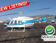 FOR SALE Bell Helicopter 206L4 - N722LM exterior new listing
