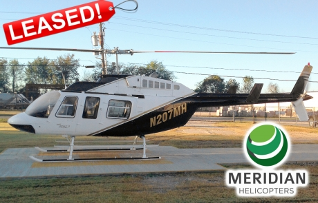 FOR LEASE Bell 206L3 - N207MH - exterior leased