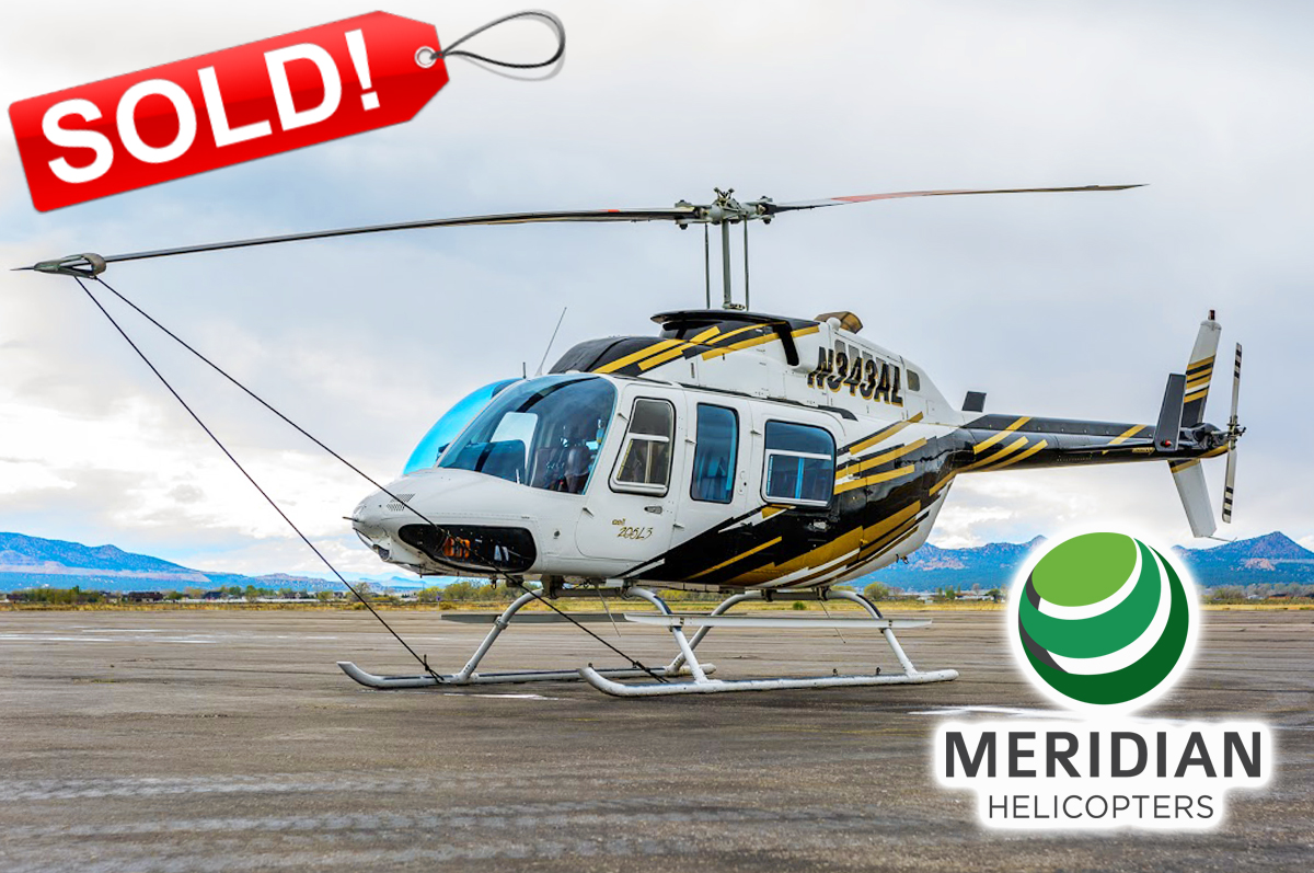 FOR SALE Bell Helicopter 206L3 - N343AL exterior sold