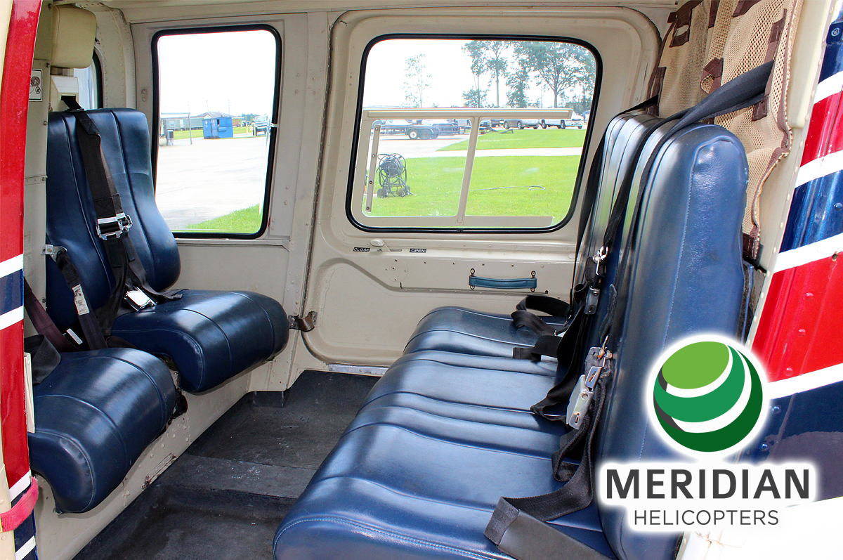 FOR SALE Bell Helicopter 206L1C30P N1171 interior 2