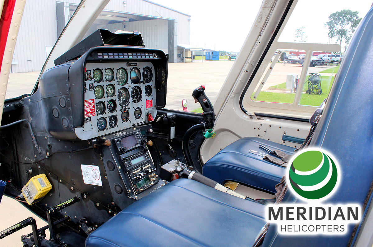 FOR SALE Bell Helicopter 206L1C30P N1171 interior