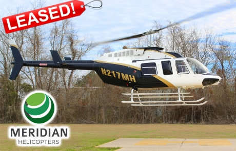 FOR LEASE Bell 206L4 - N217MH - exterior - LEASED