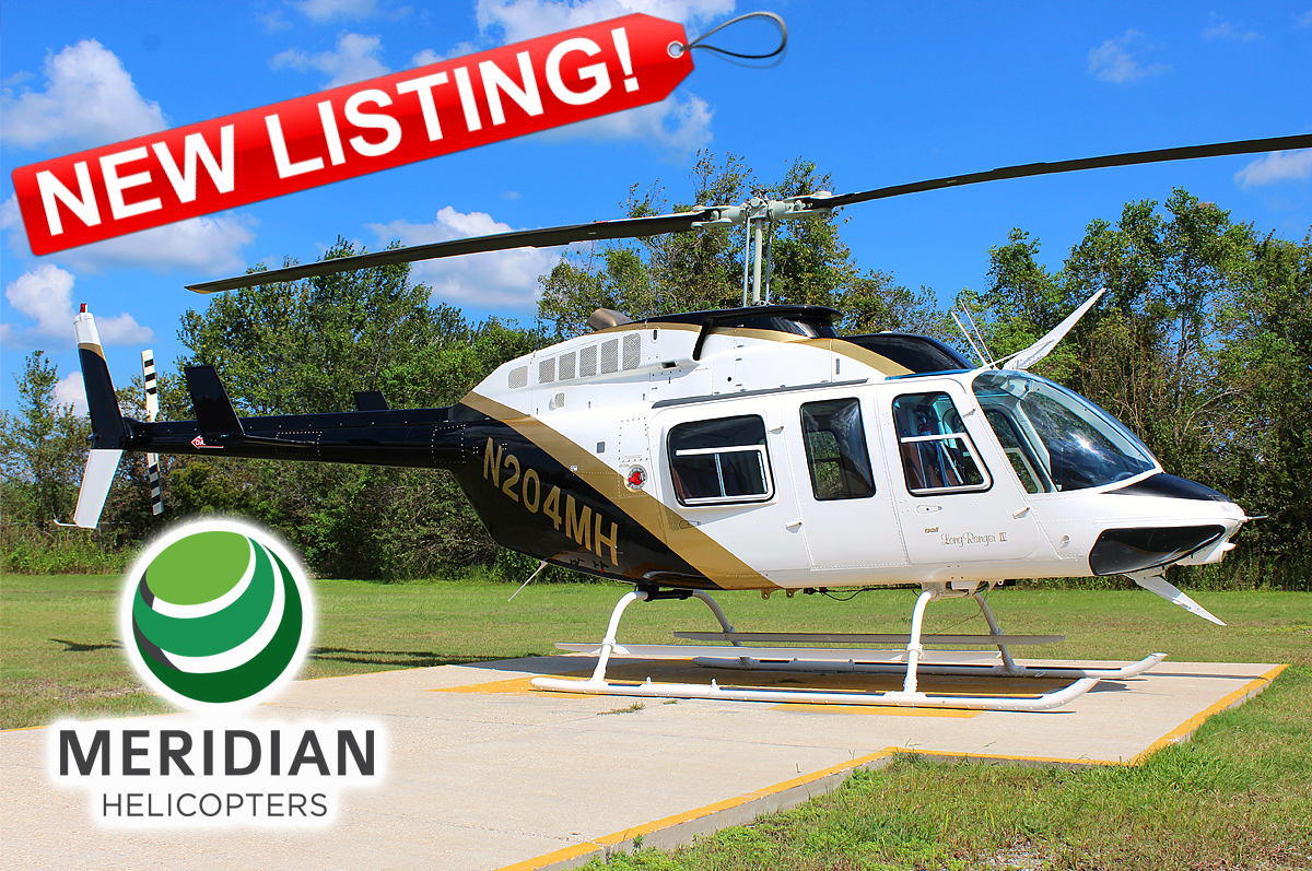 FOR LEASE Bell Helicopter 206L4 - N204MH Exterior B New Listing