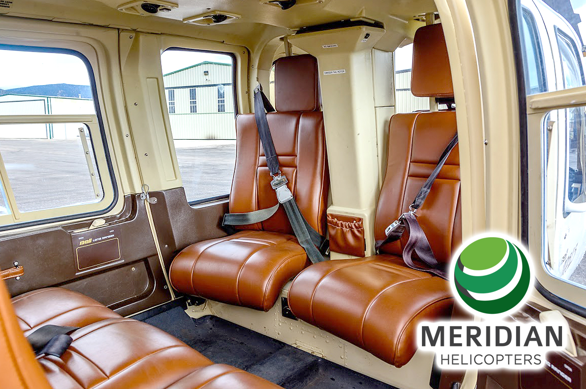 FOR SALE Bell Helicopter 206L3 - N343AL interior b