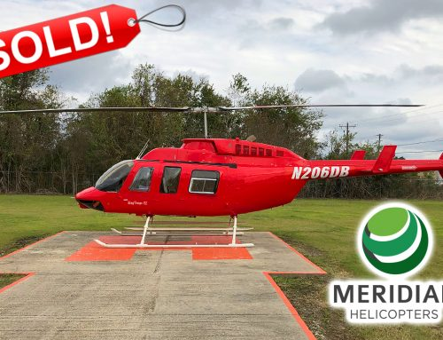 SOLD – 1995 Bell Helicopter 206L4 – N206DB
