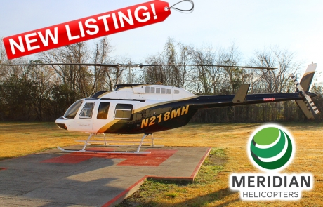 FOR SALE Bell Helicopter 206L4 - 52281 exterior new listing B