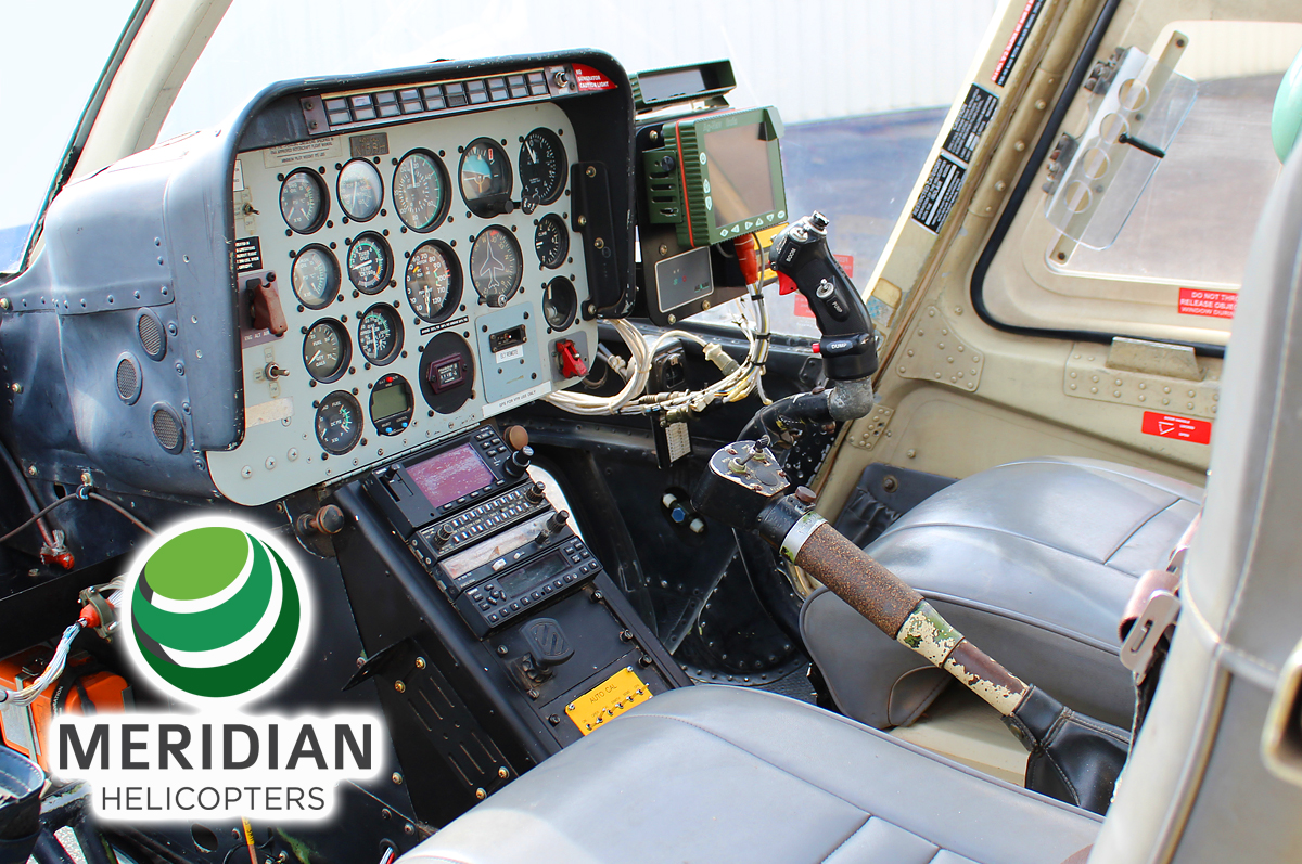 1974 Bell Helicopter 206B3 - N158H - 2974 - interior