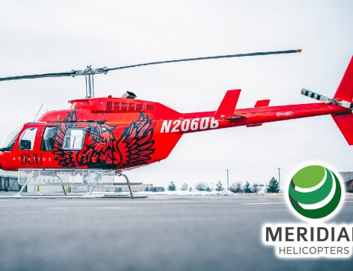 Meridian Helicopters Delivers Completed Bell Helicopter 206L4 to Southern Utah University