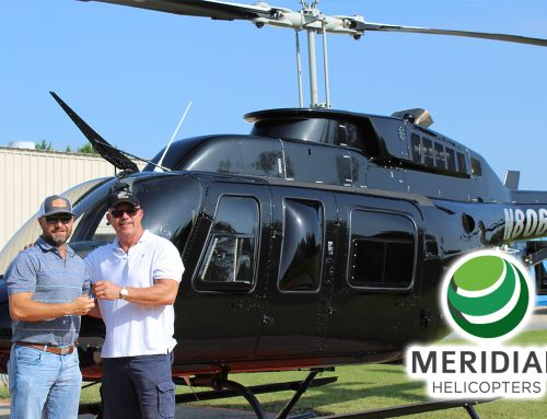 Meridian Helicopters delivers a beautiful Bell Helicopter 206L3