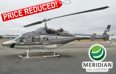 1995 Bell Helicopter 230 - C-FGWT - 23035 - exterior PRICE REDUCED