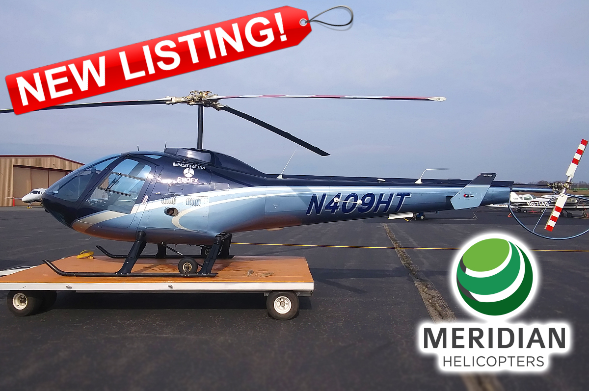 For Sale - 2015 Enstrom 280FX Shark - N409HT - 2142 - exterior