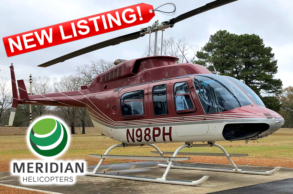 54 - 1988 Bell Helicopter 206L3 - N98PH - 51254 - For Sale - exterior - new listing