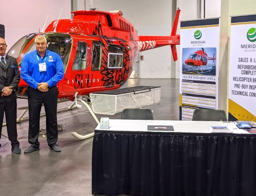 Meridian Helicopters LLC to Display Southern Utah University Bell Helicopter 206L4 at Heli-Expo 2020