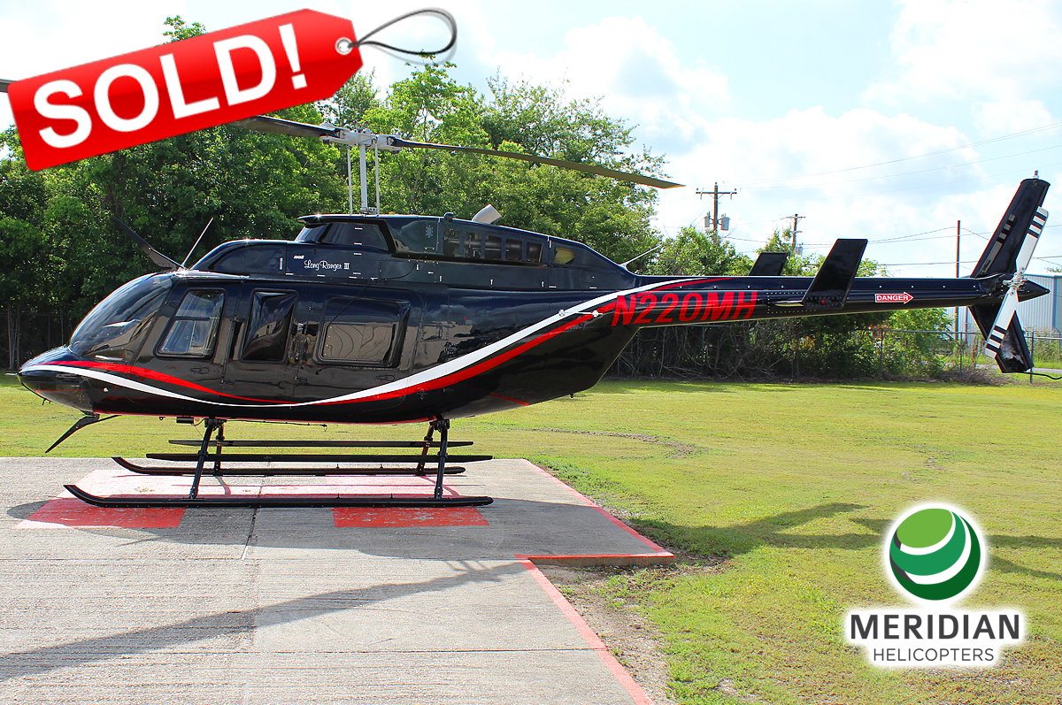 53 - 1990 Bell Helicopter 206L3 - N220MH - 51359 - For Sale - exterior - SOLD