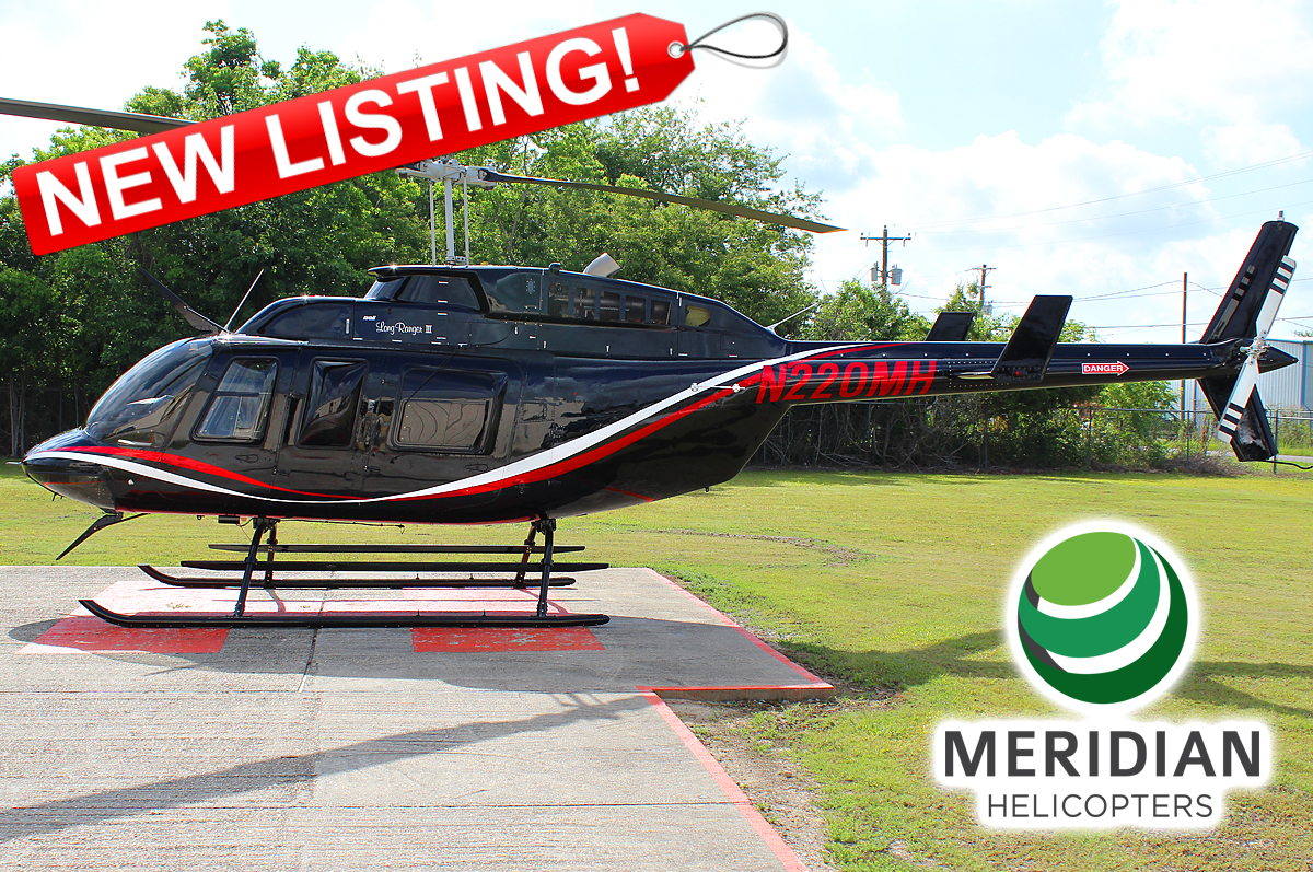 53 - 1990 Bell Helicopter 206L3 - N220MH - 51359 - For Sale or Lease - exterior - new listing