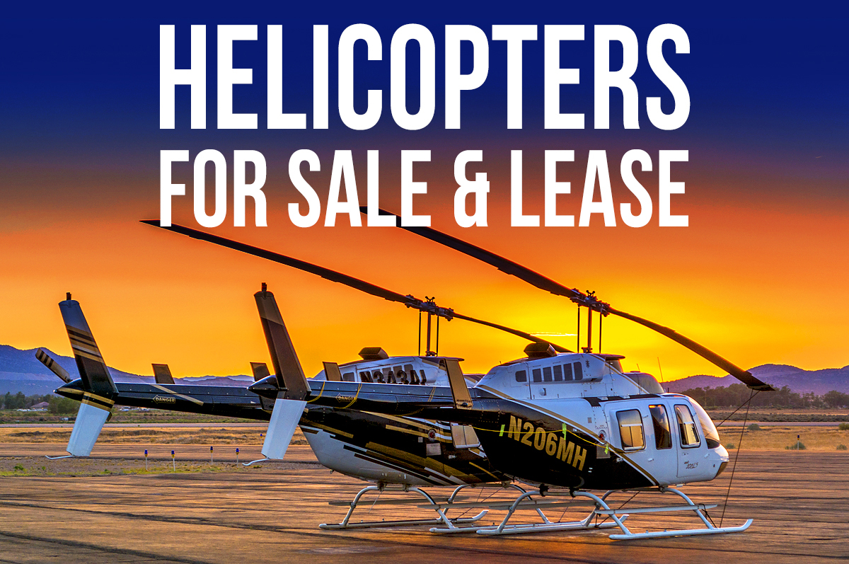 FOR SALE or FOR LEASE – Multiple Bell Helicopter 206L3's & 206L4's