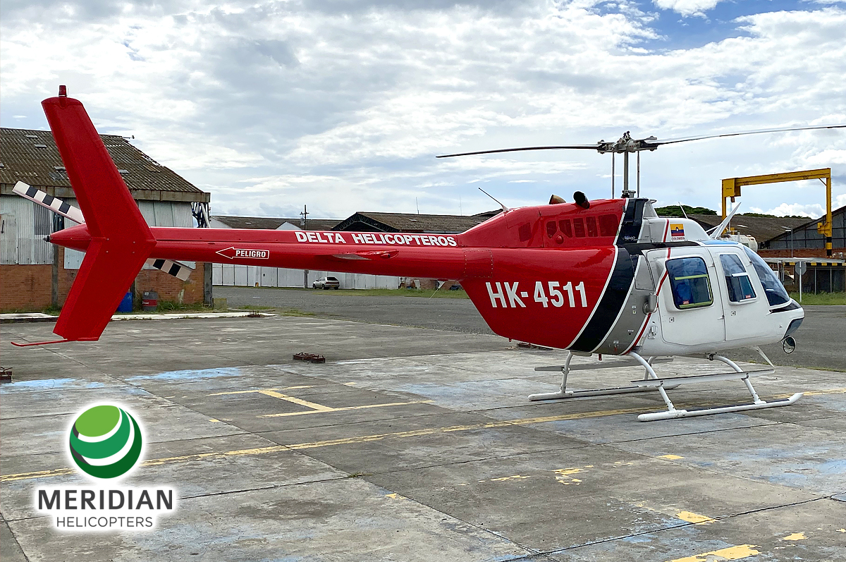 58 - 1978 Bell Helicopter 206B3 - HK-4511 - 2344 - For Sale - exterior B