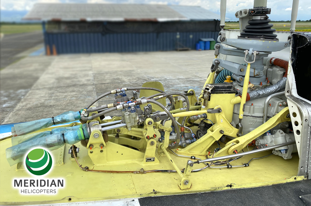 58 - 1978 Bell Helicopter 206B3 - HK-4511 - 2344 - For Sale - exterior - drive train