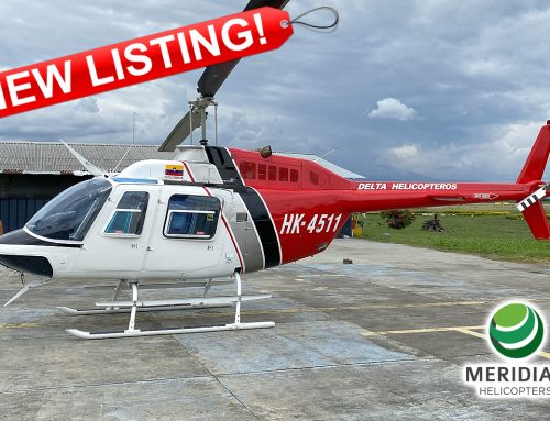 FOR SALE – 1978 Bell Helicopter 206B3 – HK-4511 – 2344