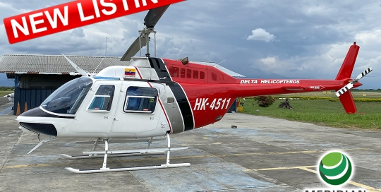 58 - 1978 Bell Helicopter 206B3 - HK-4511 - 2344 - For Sale - exterior - new listing