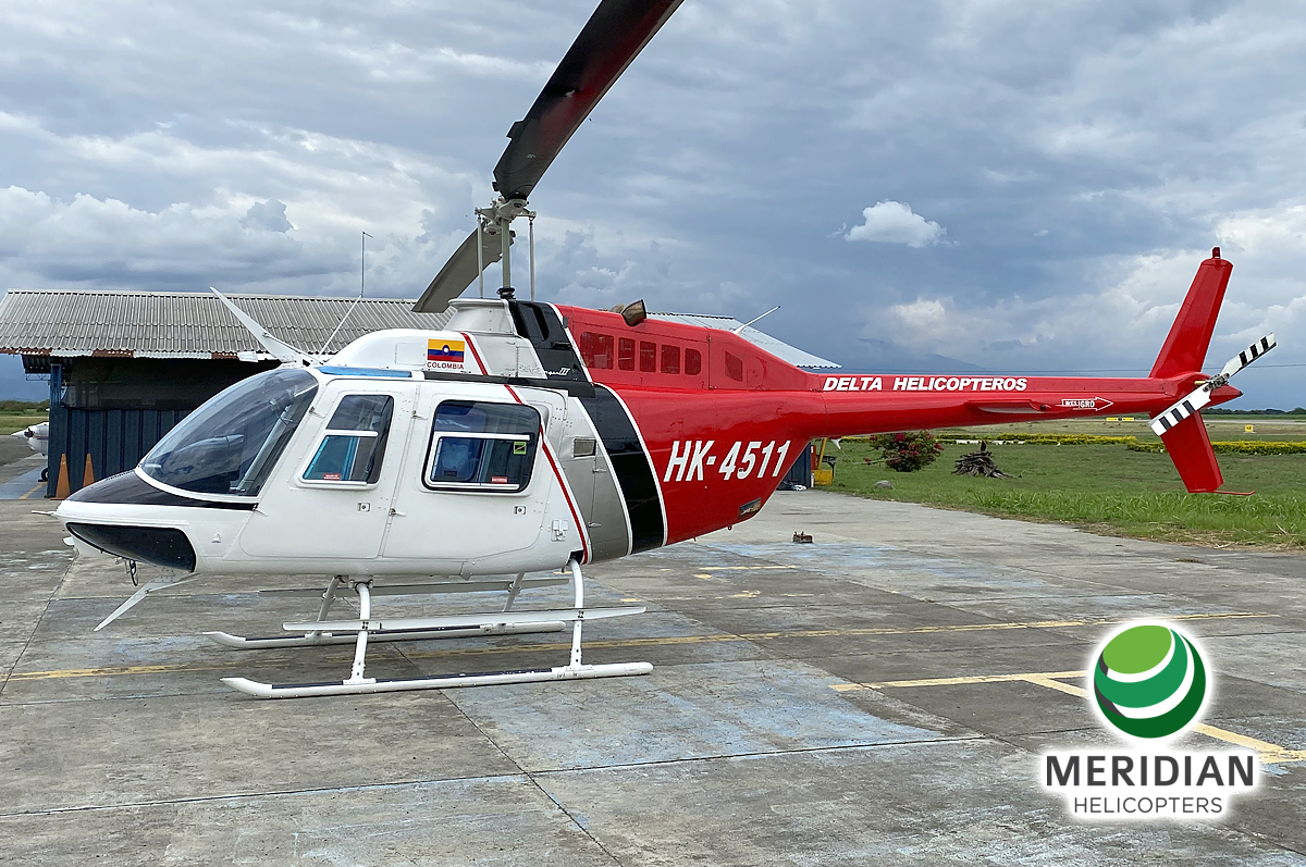 58 - 1978 Bell Helicopter 206B3 - HK-4511 - 2344 - For Sale - exterior