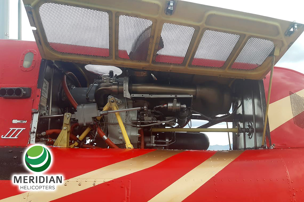 59 - 1978 Bell Helicopter 206B3 - HK-4696 - 2509 - For Sale - engine A