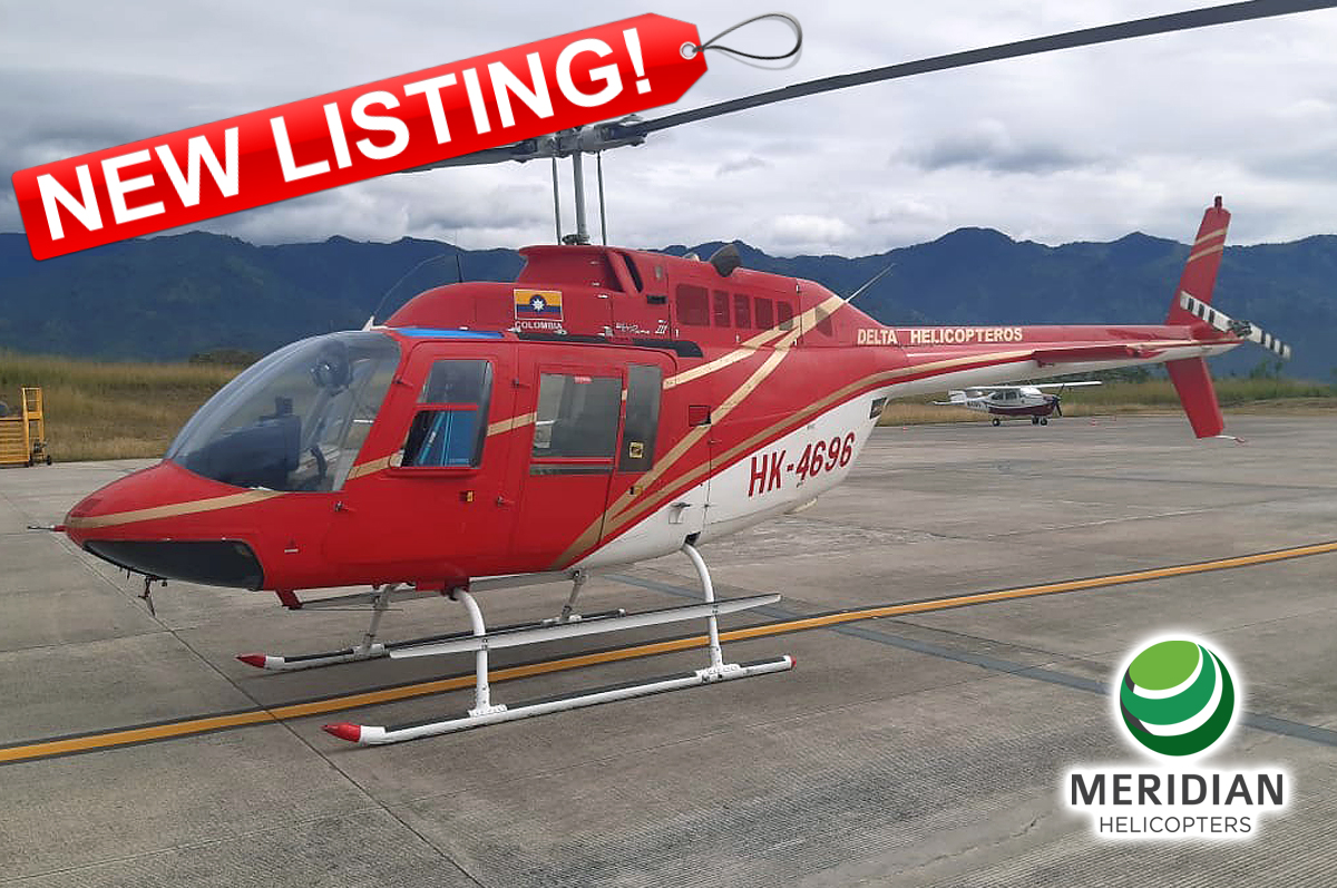 59 - 1978 Bell Helicopter 206B3 - HK-4696 - 2509 - For Sale - exterior - new listing