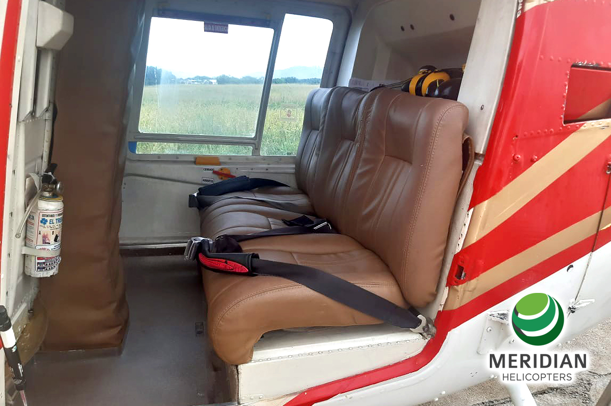 59 - 1978 Bell Helicopter 206B3 - HK-4696 - 2509 - For Sale - interior passenger