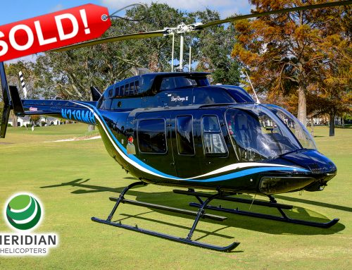 SOLD – 1996 Bell Helicopter 206L4 – N219MH