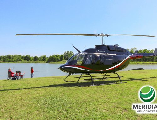 Meridian Helicopters delivers a completely refurbished Bell Helicopter 206L3 to English Air Services