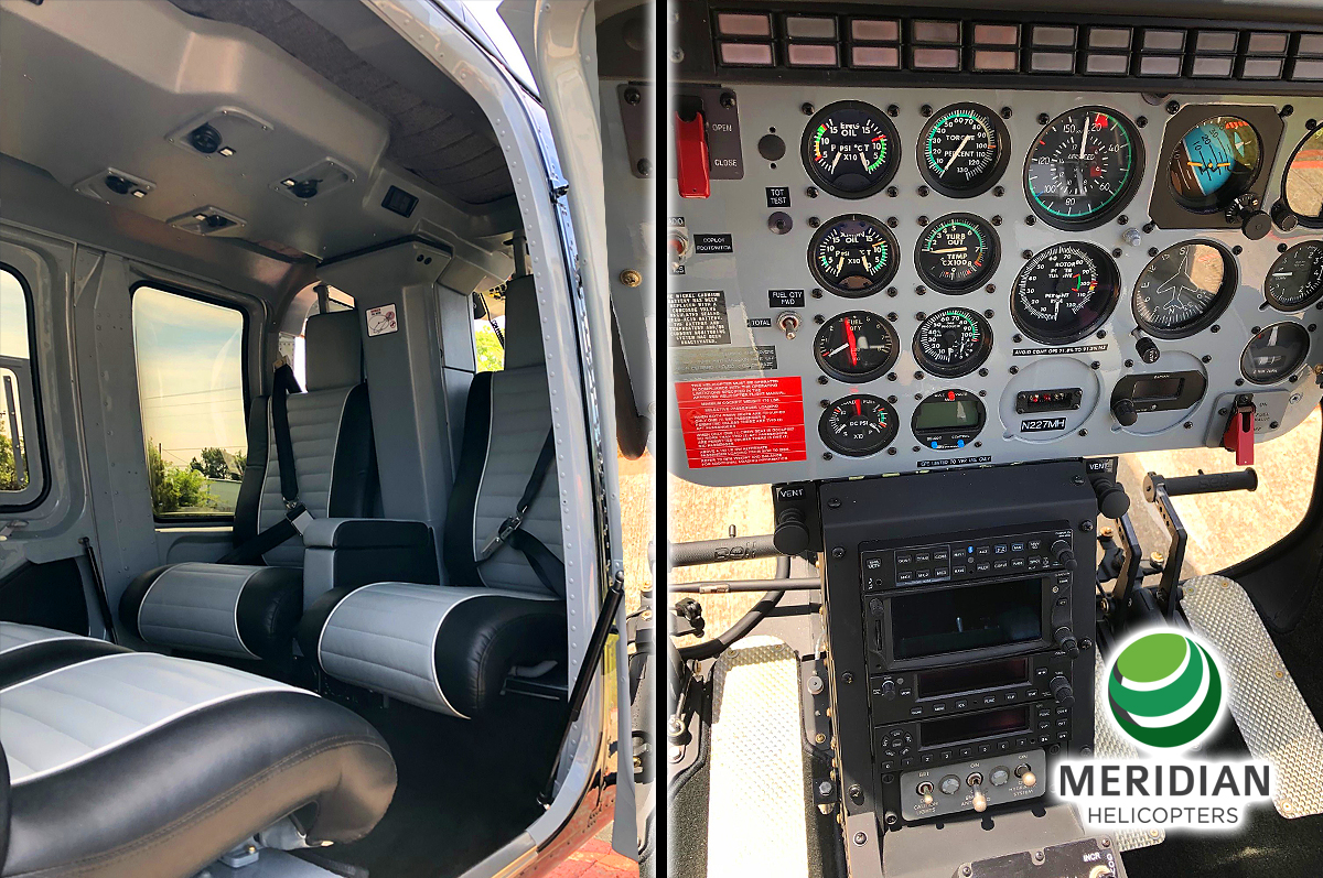 65 - 2006 Bell Helicopter 206L4 - N227MH - 52391 - For Sale or Lease - Interior E