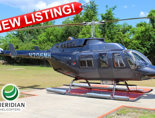 FOR SALE or FOR LEASE – 1990 Bell Helicopter 206L3 – N206MH