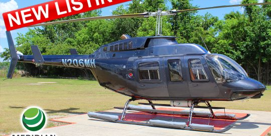 24B - FOR SALE or FOR LEASE - 1990 Bell Helicopter 206L3 - N206MH - 51376 - Exterior - New Listing